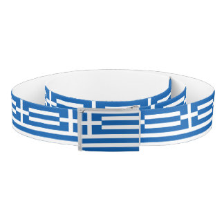 Greece Flag Belt