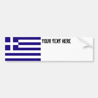 Greece Flag Bumper Stickers