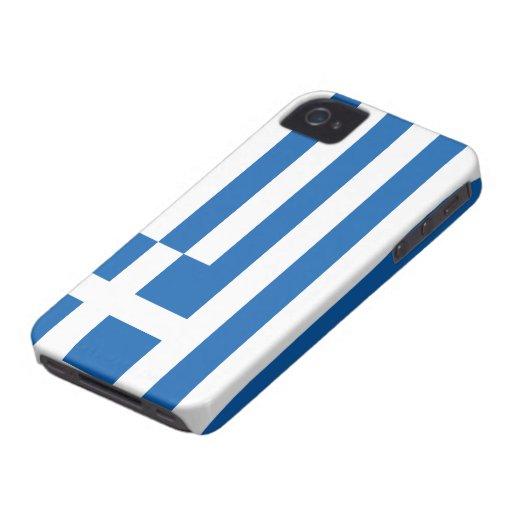 Greece Flag Case-Mate iPhone 4 Case