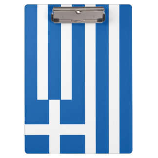 Greece Flag Clipboard