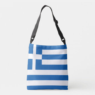 Greece Flag Crossbody Bag