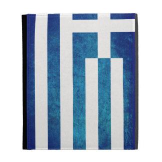 Greece Flag; Greek; iPad Case
