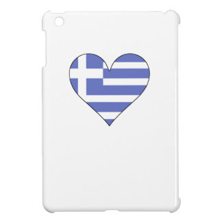 Greece Flag Heart Case For The iPad Mini