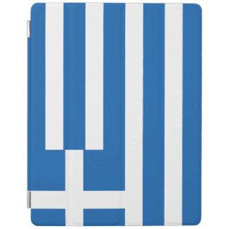 Greece Flag iPad Cover