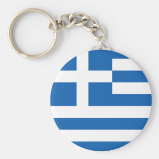 Greece Flag Keychain