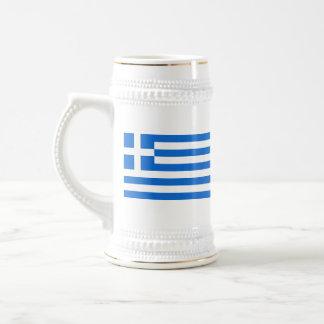 Greece Flag ~ Map Mug