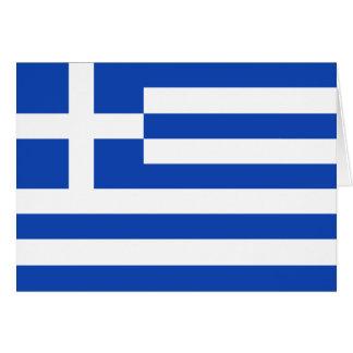 Greece Flag Notecard