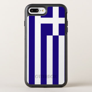 Greece Flag OtterBox Symmetry iPhone 8 Plus/7 Plus Case