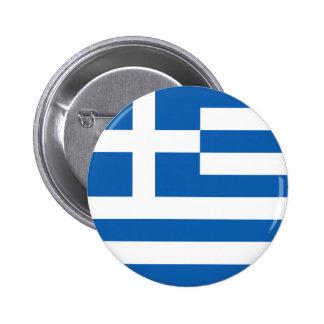 Greece Flag Pinback Buttons