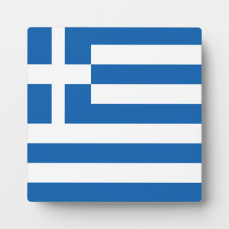 Greece Flag Plaque