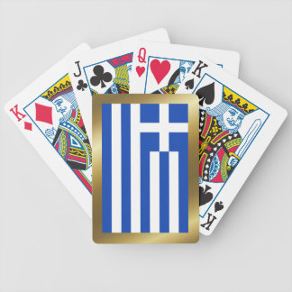 Greece Flag Playing Cards