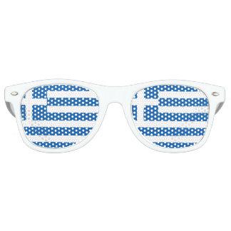 Greece Flag Retro Sunglasses