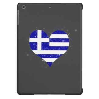 Greece Flag Shining Unique iPad Air Covers