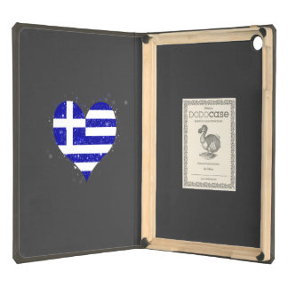 Greece Flag Shining Unique Case For iPad Air