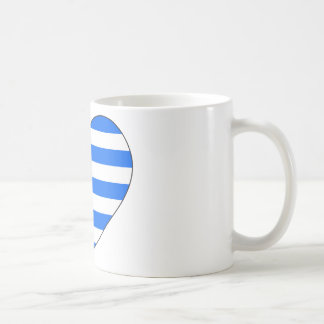 Greece Flag Simple Coffee Mug