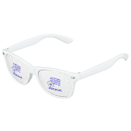 Greece Flag Soccer Ball Kids Sunglasses