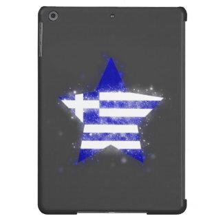 Greece Flag Star Shining Case For iPad Air