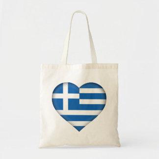 Greece Flag Tote Bag