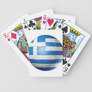 GREECE FOOTBALL FLAG BICYCLE PLAYING CARDS