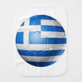 GREECE FOOTBALL FLAG BURP CLOTH