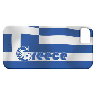 Greece Football Flag Case For The iPhone 5
