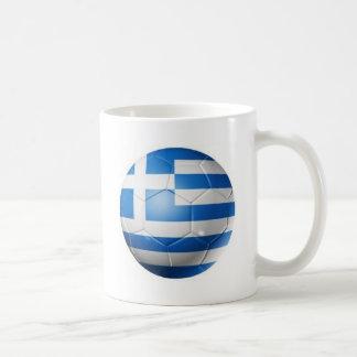 GREECE FOOTBALL FLAG COFFEE MUG