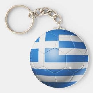 GREECE FOOTBALL FLAG KEY RING