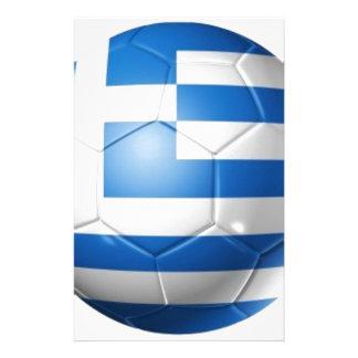 GREECE FOOTBALL FLAG STATIONERY