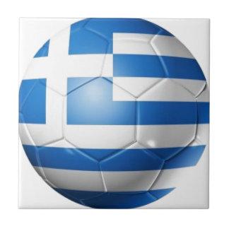 GREECE FOOTBALL FLAG TILE
