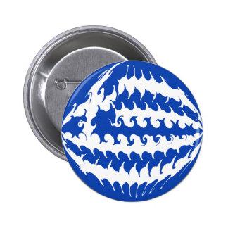 Greece Gnarly Flag Pins
