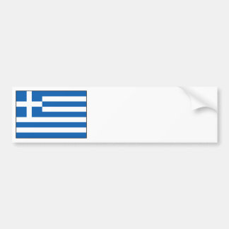 Greece – Greek Flag Bumper Stickers