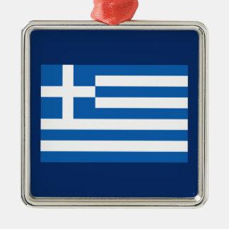 Greece – Greek National Flag Metal Ornament