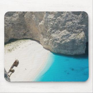 GREECE, Ionian Islands, ZAKYNTHOS, SHIPWRECK Mouse Pad