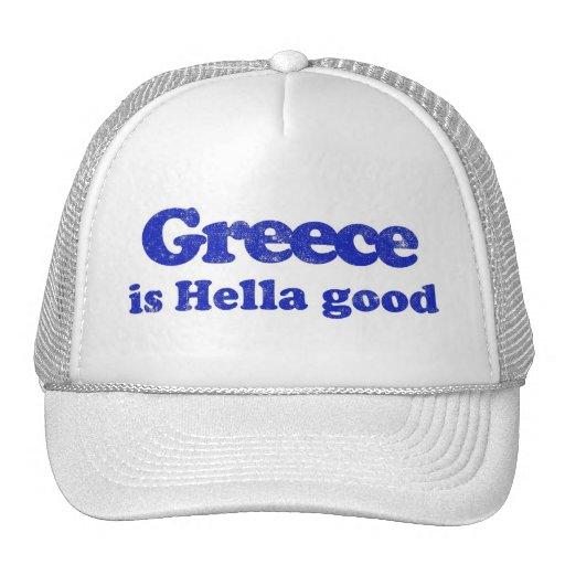 Greece is Hella Good Mesh Hats