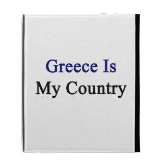 Greece Is My Country iPad Folio Case