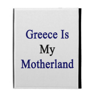 Greece Is My Motherland iPad Case