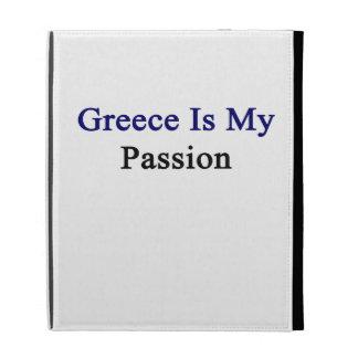 Greece Is My Passion iPad Folio Cover