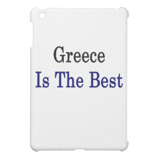 Greece Is The Best iPad Mini Cover