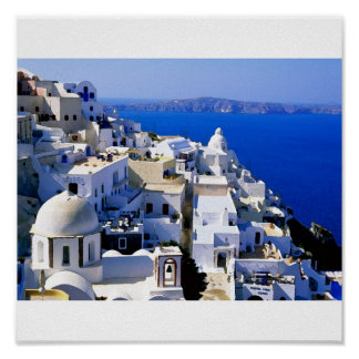 greece island poster