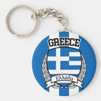 Greece Key Ring
