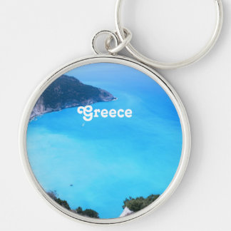 Greece Landscape Key Chains