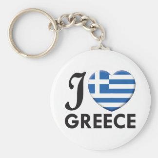Greece Love Keychain