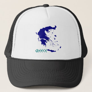 greece map.jpg trucker hat