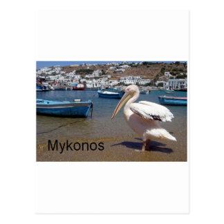 Greece Mykonos PETROS  (St.K) Postcard