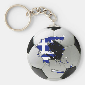 Greece national team basic round button key ring