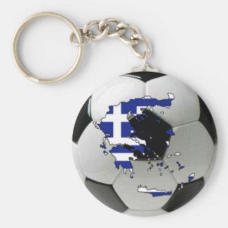 Greece national team basic round button key ring