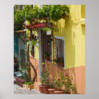 GREECE, Northeastern Aegean Islands, LESVOS Poster