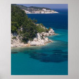 GREECE, Northeastern Aegean Islands, SAMOS, Poster