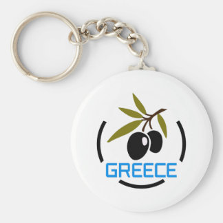 GREECE OLIVES KEY CHAIN