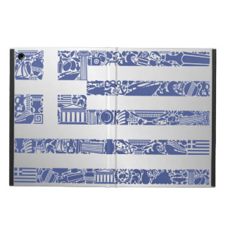 Greece Printed Tattoo Totem Country Flag Cover For iPad Air